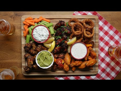 Wing Charcuterie Board ? Tasty Recipes