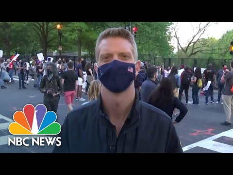 'Giant Group Exhalation' In Black Lives Matter Plaza After Chauvin Guilty Verdict | NBC News NOW