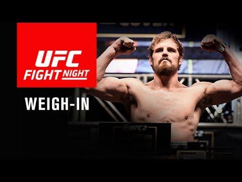 Ważenie UFC FN 113: Nelson i Ponzinibbio w limicie, Calderwood przekroczyła wagę