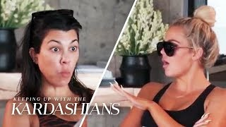 "Khloe Snaps at Kourtney: ""The Bitch Complains For Hours!"" 