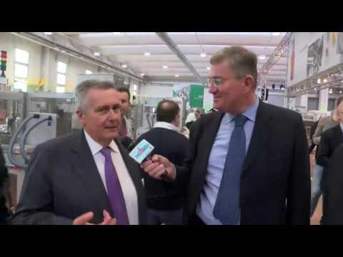 Inaugurazione Stabilimento a Carpi - Intervista a Maurizio Marchesini