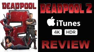 DEADPOOL 2 4K Apple TV iTunes Review   Dolby Atmos