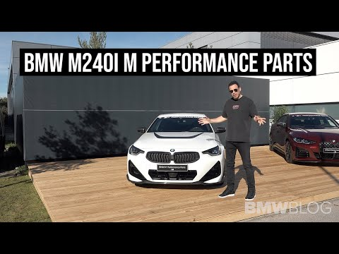 BMW M240i Coupe M Performance Parts - EXCLUSIVE LOOK | 4K