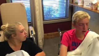 Siblings get wisdom teeth pulled together