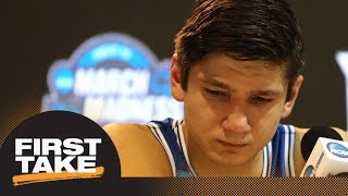 First Take reacts: Did Duke blow it during OT loss to Kansas in NCAA tournament? | First Take | ESPN