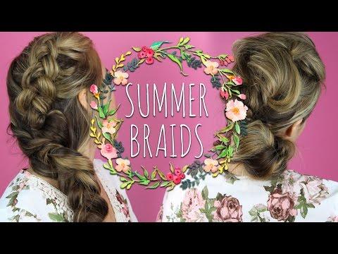 SUMMER BRAID HAIRSTYLES
