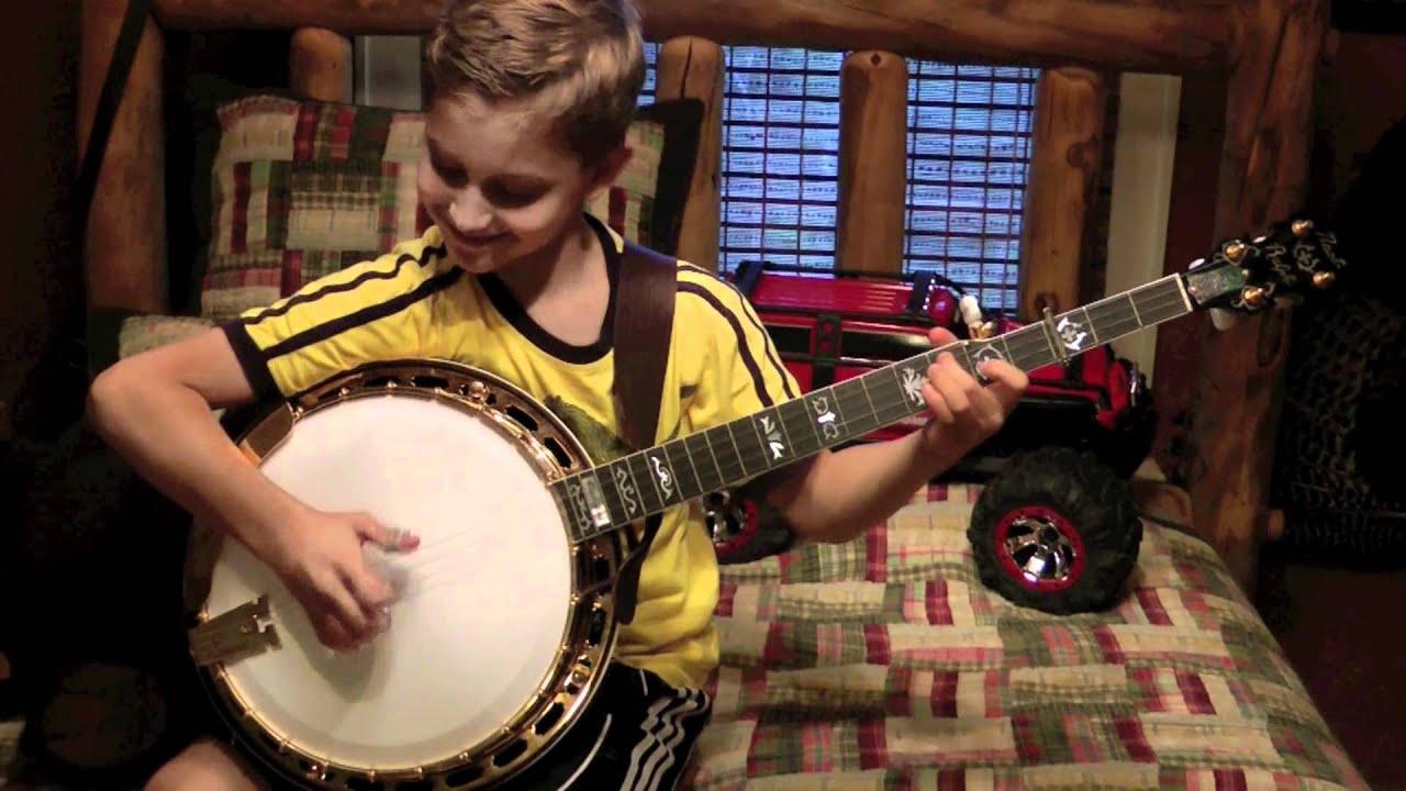 9 year old jonny mizzone sleepy man banjo boys pretty polly practice youtube. Black Bedroom Furniture Sets. Home Design Ideas