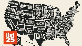 25 Bizarre Facts About Each US State (Part 2)