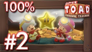 Captain Toad - Treasure Tracker (Switch): 100% Walkthrough Part 2 - Episode 2