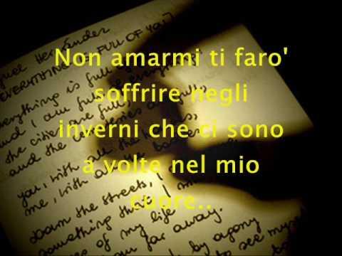 Non Amarmi - Aleandro Baldi & Francesca Alotta (testo)