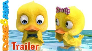 🐥Six Little Ducks – Trailer   Kids Songs & Nursery Rhymes from Dave and Ava🐥