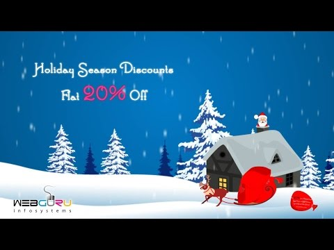 Video on Christmas and New Year Offer for Various Web Services