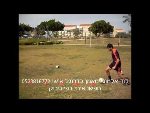 מאמן כדורגל אישי- דוד אלמוג