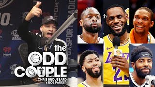 Chris Broussard & Rob Parker - Who is the Best Teammate LeBron Ever Played With?