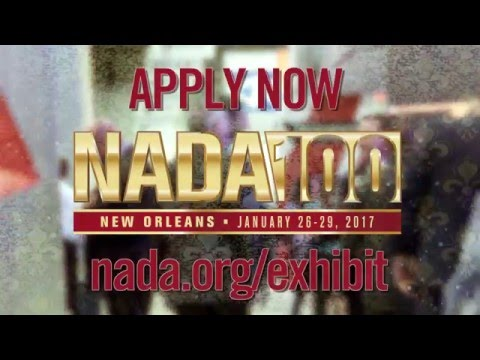 NADA100: Exhibitors apply now for 2017 expo!