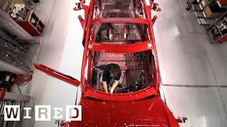 How Tesla Builds Electric Cars | Tesla Motors Part 2 (WIRED)