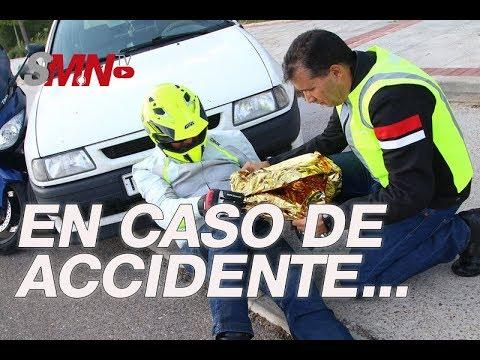 Qué hacer y cómo actuar en caso de encontrarnos un accidente