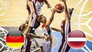 Germany v Latvia - Semi-Final - Full Game - FIBA U18 Women's European Championship 2018