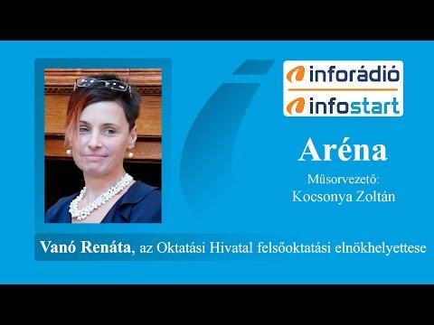 InfoRádió - Aréna - Vanó Renáta - 2020.07.24.