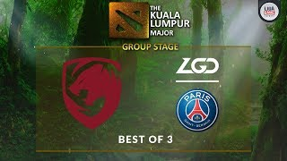 [DOTA 2] Tigers VS Fnatic (BO3) - The Kuala Lumpur Major Groupstage Day 2 - YouTube