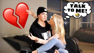 IGNORING My Girlfriend For 24 Hours PRANK! - She Cried :(
