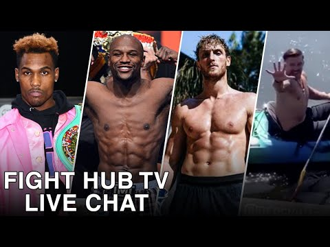 MAYWEATHER VS LOGAN PAUL MIGHT ACTUALLY HAPPEN! HELLO DERECK USYK TROLL! (FIGHT HUB LIVE CHAT)