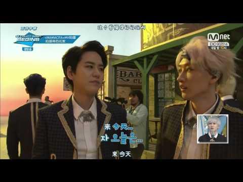 [HD 中字]140904 Mnet MCD Super Junior - Mamacita MV Music Video 幕後花絮 Making Film