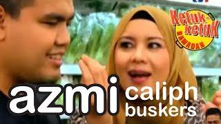 ketuk ketuk ramadan 2017 AZMI Caliph Buskers