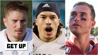 Projected landing spots for '21 Draft tier-2 QBs: Kyle Trask, Kellen Mond and Davis Mills  | Get Up