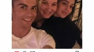 Cristiano ronaldo y Georgina rodríguez instagram Photos Familiar