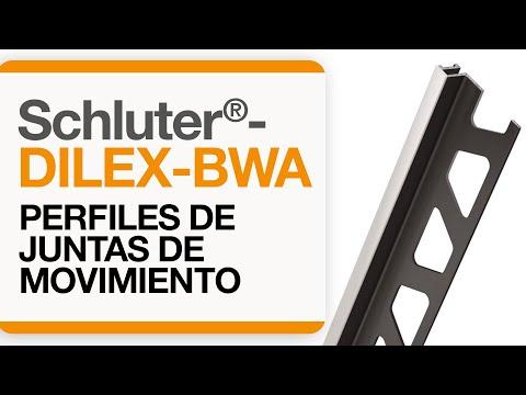Cómo instalar una junta de movimiento en baldosas: Schluter®-DILEX-BWA