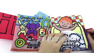 Baby Cloth Book Early Learning Soft Book Toys - Goodnight Baby