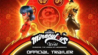 MIRACULOUS WORLD | ⭐ SHANGHAI - OFFICIAL TRAILER 🐲 | The Legend of Ladydragon