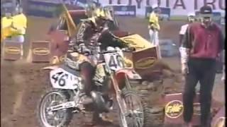 1998 AMA Supercross RD7 from Atlanta Georgia