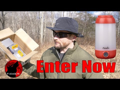 3 Will Win - Enter Now - Fenix CL26R Lantern - Giveaway