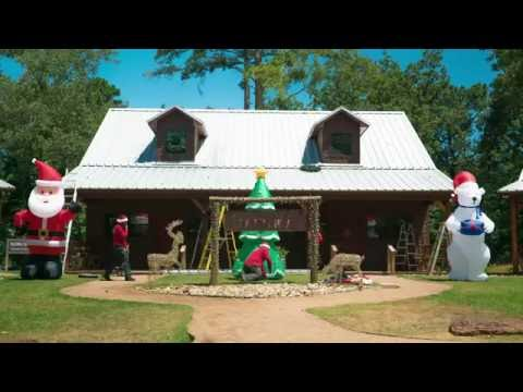 Pine Cove Winterfest: Deck the Cabins (Time Lapse)