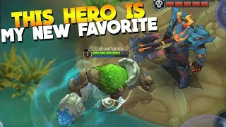 NEW Hero Grock Gameplay! & New Lord Rework Mobile Legends Update