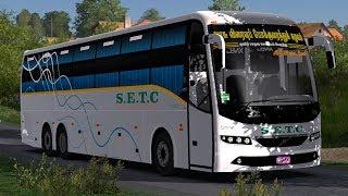 🔴Rathimeena bus accident| RATHIMEENA Travels - Volvo