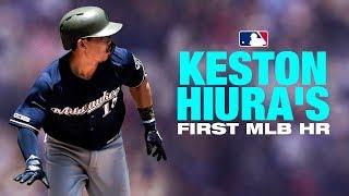 Hiura lines 1st career homer to left
