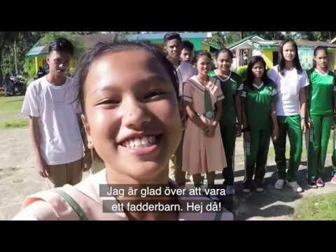 Reane, fadderbarn i Filippinerna - Plan International