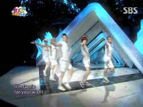 MC mong, Tae Min, Key, Taec Yeon, Woo Young  - Tell me your wish @ SBS Inkigayo 인기가요 090809