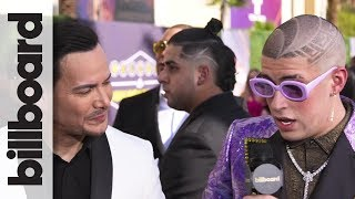 Bad Bunny on Learning Salsa with Victor Manuelle | Billboard Latin Music Awards 2018
