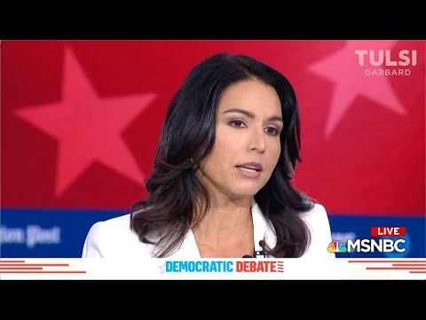 Watch the 8 minutes that has America searching Tulsi Gabbard
