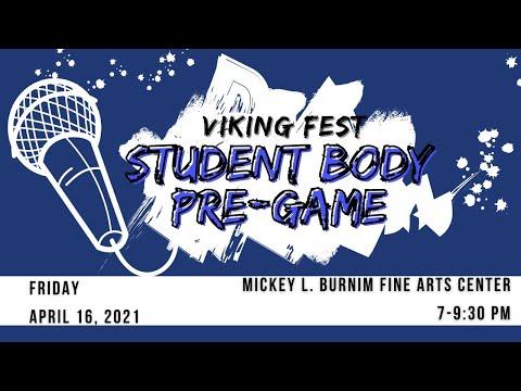 Viking Fest Student Body Pre-Game