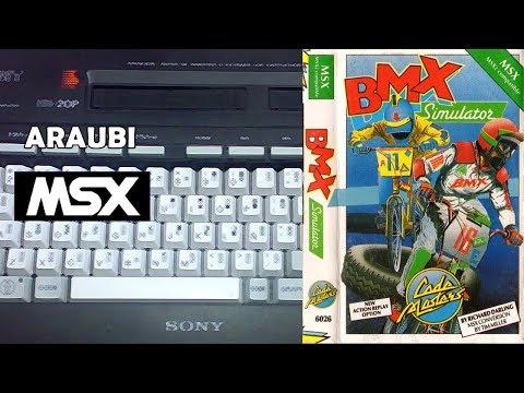 BMX Simulator (Code Masters, 1987) MSX [117] El Kiosko