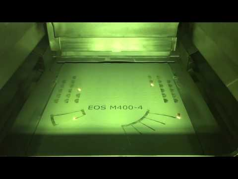 EOS M 400 4   Industrial 3D printing live!