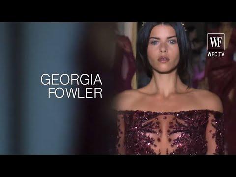 Georgia Fowler top model from New Zealand