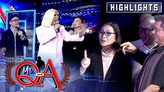 Vice, Vhong and Anne panic after Cory Vidanes visited It's Showtime   It's Showtime Mr. Q and A