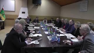 Dnia 26 kwietnia 2018r. w świetlicy wiejskiej w Strzyżowcu odbyła się XLIII Sesja Rady Miasta i Gminy