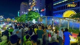 Đêm 30 Tết Người Sài Gòn Đón Khoảnh Khắc Bắn Pháo Hoa 2018